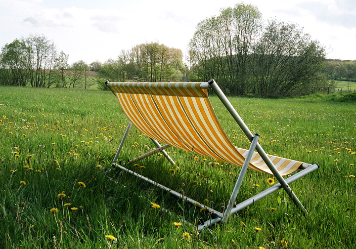 'Atlantique' deck chair bench
