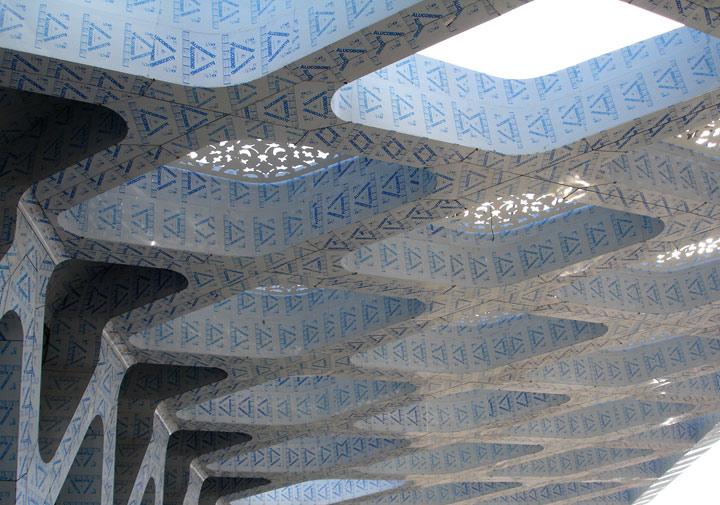 Aluminium Diebond cladding with protective film