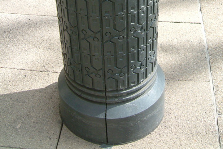 Street furniture texture