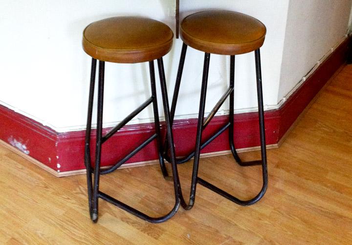 India Club vintage stools