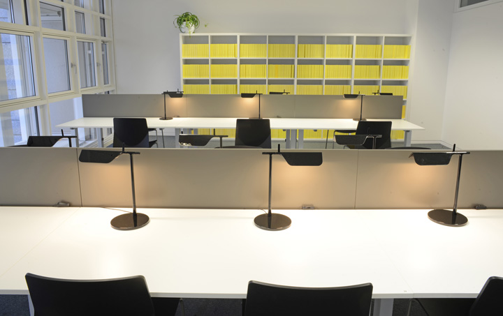 Max Planck reading room