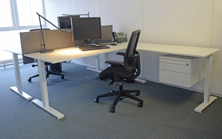 Max Planck double office space