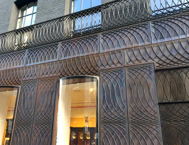 Paul Smith shop facade, Albemarle Street
