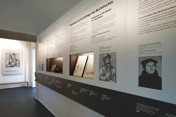 Kulturhuef Grevenmacher, print museum exhibition