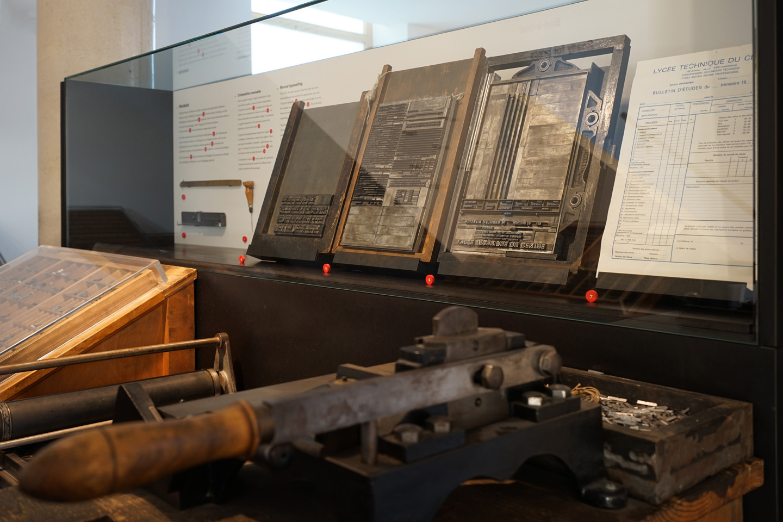 Kulturhuef Grevenmacher, print museum exhibition